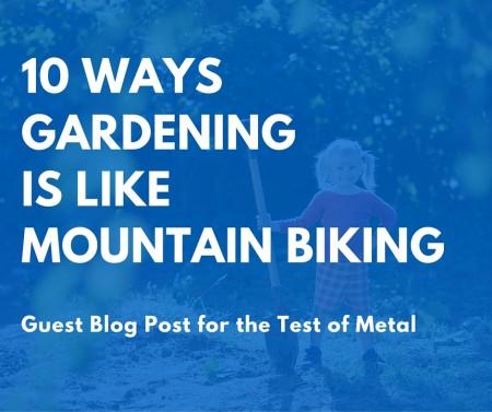 gardening & biking post